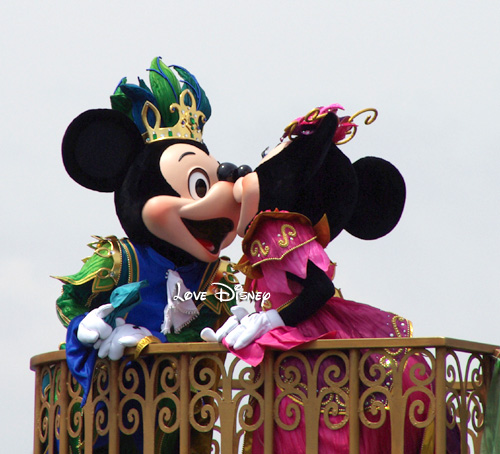 ミッキーミニーのキス画像フェアリーズプリマヴェーラ Love Disney