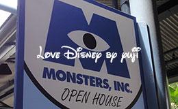 サリーとマイクのペアグリーティング!ディズニーハリウッドスタジオ