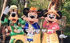 ミッキー&フレンズ・グリーティングトレイルの台紙のキャラクター写真リニューアル!