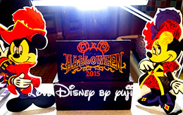 ディズニー・ハロウィーン2015「ランチブッフェのデザート」 in オチェーアノ