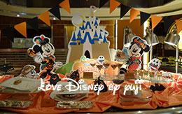 ディズニー・ハロウィーン2015「デザートブッフェ」! in  エンパイア・グリル