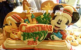 クリスマス・ファンタジー2015「ランチブッフェの食事」! in シャーウッドガーデン・レストラン
