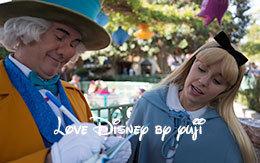 マッドハッター&アリスのペアグリーティング画像!Disneyland Resort旅行記