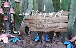 「ティンカー・ベル&シルバーミスト」グリーティング画像!Disneyland Resort旅行記