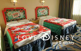 ディズニーアンバサダーホテル「クリスマス・ファンタジー」デコレーションの客室紹介!