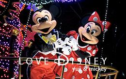 「ミッキー&ミニーの2ショット画像」を7枚紹介!エレクトリカルパレード・ドリームライツ