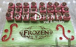 アナとエルサのフローズンファンタジー2017の「スペシャルブッフェのデザート全10種類」紹介!