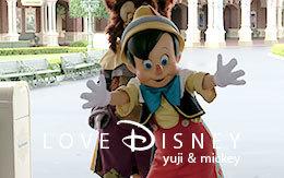 「ピノキオ&ギデオンの開園前の可愛いご挨拶」紹介! in TDL