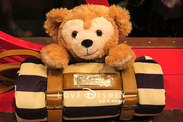 Duffy and Friendsグッズ(ダッフィーのブランケット)