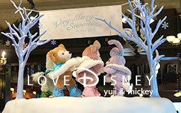 3店舗の「ダッフィーのアイススケート」飾付紹介! in TDS
