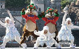 「雪の中でダンスをするチップ&デール」画像7枚紹介!パーフェクト・クリスマス2017