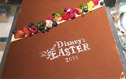ディズニー・イースター2018「ランチブッフェのデザート」 in オチェーアノ