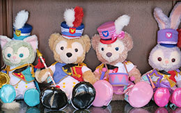 3店舗のDuffy and Friends「Happy Marching Fun」飾付紹介!