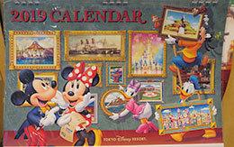 2018年8月10日販売開始のTDRグッズ「2019年カレンダー」紹介!