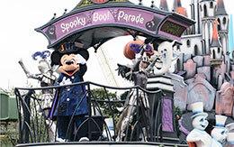 当選鑑賞エリアで見た「スプーキーBoo!パレード」体験レポート!