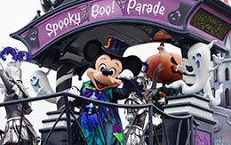 当選鑑賞エリアで撮影したミッキー画像を10枚紹介!スプーキーBoo!パレード