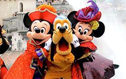 ミッキー&ミニー&プルートのスリーショット画像を4枚紹介!ザ・ヴィランズ・ワールド2018