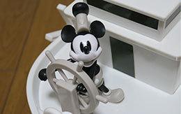ミッキーマウス90周年記念グッズ「蒸気船ウィリーのポップコーンバケット」購入レポート
