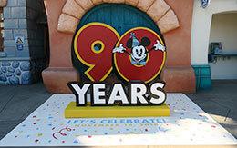 11月18日「90 years with Mickey」デコレーション紹介!