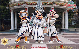 TDS「ディズニー・クリスマス2018」後期のディズニースナップフォト(フォトファン)紹介!