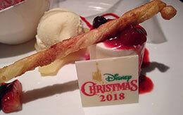 ディズニー・クリスマス2018「鉄板焼きディナー」 in 花 Hana