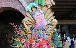 「TDL&TDSの2019年お正月飾付」&「TDR2019年のカレンダー(非売品)」紹介!