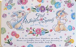 「うさぎや花がデザインされた、春のグッズ&お菓子」ディズニー・イースター2019