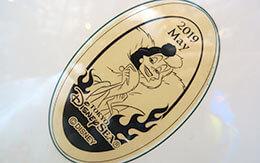 2019年5月のマンスリースーベニアメダル&TDR非売品カレンダー