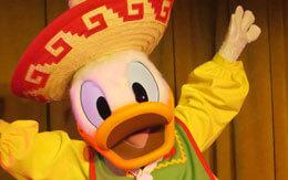 「ディズニークルーズ地中海+ローマ」旅行記〜3日目(メキシカン衣装を着たドナルド)〜