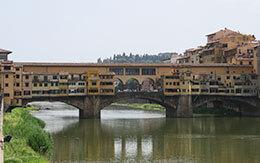 「ディズニークルーズ地中海+ローマ」旅行記〜4日目(TDSにあるポンテヴェキオのモデルになった本物の橋)〜
