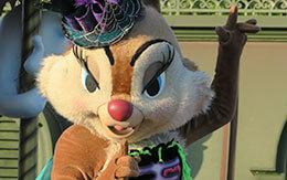 クラリスが乗っているフロート停止位置で撮影した「スプーキーBoo!パレード2019」