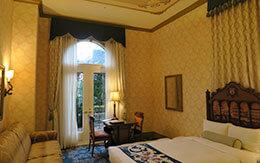 お泊りディズニー「東京ディズニーシー・ホテルミラコスタ、ヴェネツィア・サイドにあるパラッツォパティオルーム」