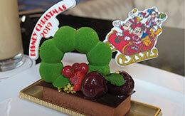 緑のポンデリング?久々にオススメできるぞ!ディズニー・クリスマス2019のケーキセット