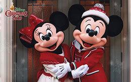 TDL「ディズニー・クリスマス2019」前期のディズニースナップフォト