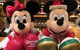 TDL「ディズニー・クリスマス2019」グッズ(ぬいぐるみバンド、パスケースなど)