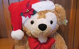 ダッフィー&フレンズのクリスマスグッズ(ツリー、ぬいぐるみなど)
