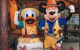 ミッキー&ミニーの誕生月限定フォトフレームが付いた「ディズニースナップフォト」