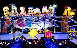 ラストイヤーだ!「カラー・オブ・クリスマス」をミッキー広場で見る