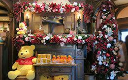 東京ディズニーランドのクリスマス飾付(ウエスタンランド〜ファンタジーランド編)