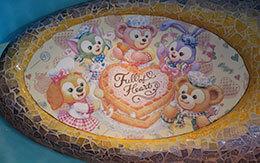 「ダッフィー&フレンズのハートウォーミング・デイズ」3店舗のデコレーション(飾り付け)