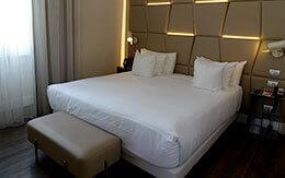「ディズニークルーズ地中海+ローマ」旅行記〜ローマで宿泊したホテル(NHコレクションパラッツォチンクエチェント)の部屋〜