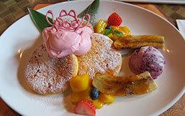 【スティッチやエンジェルのファン必見】可愛いハワイアン風のパンケーキで南国気分を味わおう!