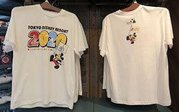 お揃いコーデにオススメ!2020年TDR夏アイテム「Tシャツ、アロハシャツ、半袖シャツ」46品紹介