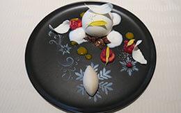雪の日をイメージしたデザートが美しい!オチェーアノ「クリスマスランチコース」体験レポ