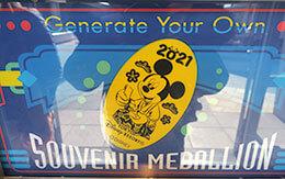 2021年1月現在入手可能な東京ディズニーランドの「スーベニアメダル」全種類公開