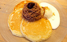 フワッとしたパンケーキが絶品 in イクスピアリ「カフェ・カイラ」
