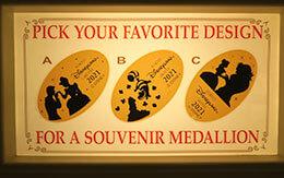 新しいデザインが登場「3つのディズニーホテルのスーベニアメダル」全種類公開