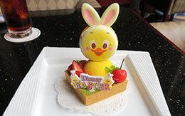 うさぴよをイメージした「ディズニー・イースター2021」ケーキセットが登場 in ハイピリオン・ラウンジ