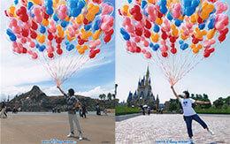 東京ディズニーリゾート限定の「フォトジェニックなディズニースナップフォト」紹介