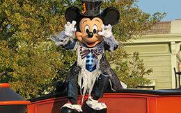 「ミッキー&フレンズのグリーティングパレード:ハロウィーンバージョン」 in 東京ディズニーランド
